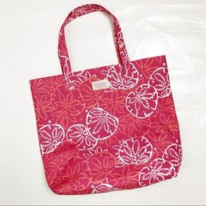 Lilly Pulitzer for Estee Lauder Pink Tote Bag O/S